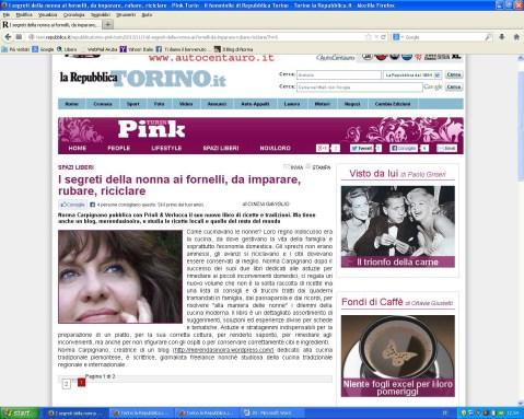 recensione Repubblica Pink